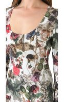 Preen By Thorton Bregazzi Print Jersey Dress - Lyst