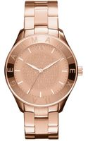 Armani Exchange Womens Rose Gold Ion Plated Stainless Steel Bracelet 40mm - Lyst