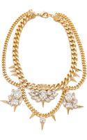 Fallon Classique Crystal Necklace - Lyst