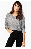 Nasty Gal Satellite Crop Knit - Lyst