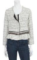 Dolan Embellished Peplum Jacket - Lyst