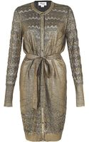 Temperley London Judith Foil Cardigan - Lyst