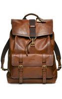 Coach Bleecker Leather Backpack - Lyst