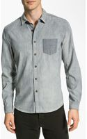 Life After Denim Reversible Chambray Shirt - Lyst