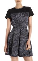 Proenza Schouler Short Sleeve Tweed Dress - Lyst