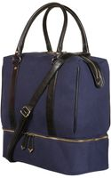 Topshop Military Holdall - Lyst