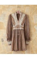 Free People Vintage Floral and Lace Dress - Lyst
