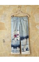 Free People Vintage Acid Wash Jeans with Tie Dye - Lyst