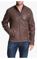 Ugg Garrapata Leather Jacket - Lyst