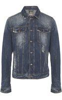 John Galliano Denim Jacket - Lyst
