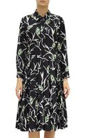 Marni Pineapple Print Shirt Dress - Lyst