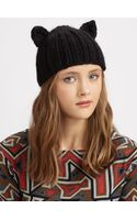 Eugenia Kim Felix Knit Cat Ear Cap - Lyst
