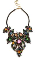 Erickson Beamon Crystal Bib Necklace - Lyst