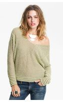 Free People Bumblebee Stripe Sweater - Lyst