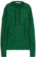 T By Alexander Wang Knitted Hooded Sweater - Lyst