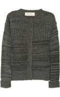 Marni Wool and Cashmere Blend Cardigan - Lyst