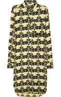 Marni Printed Silk Twill Shirt Dress - Lyst