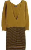 Sonia Rykiel Ribbed Wool and Cashmereblend Sweater Dress - Lyst