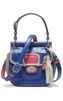 Coach Leather Colorblock Mini Willis - Lyst