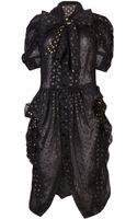 Comme Des Garçons Vintage Avant Garde Shirt Dress - Lyst