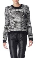McQ by Alexander McQueen Chunky Knitted Jumper - Lyst