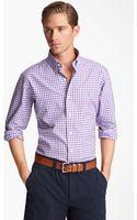 Polo Ralph Lauren Custom Fit Sport Shirt - Lyst