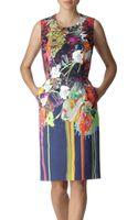 Preen By Thorton Bregazzi Bloom Printed Dress - Lyst