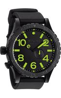 Nixon The 5130 Pu Rubber Band Watch - Lyst
