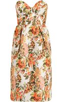 Stella McCartney Fletcher Flower Jacquard Dress - Lyst