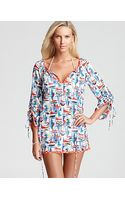Milly Coverup Tunic - Lyst