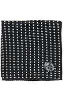 Dolce & Gabbana Polka Dot Silk Satin Pocket Square - Lyst