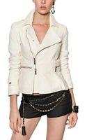DSquared2 Matelassé Nappa Leather Jacket - Lyst