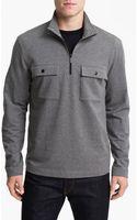Michael Kors Half Zip Fleece Pullover - Lyst