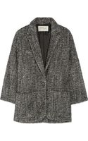 Etoile Isabel Marant Xavier Bouclé Wool and Alpaca blend Coat - Lyst
