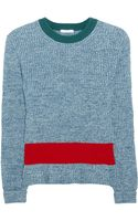 Chloé Cashmere and Wool-Blend Sweater - Lyst