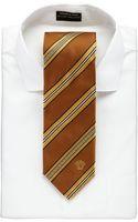 Versace Mixed Stripe Silk Tie - Lyst