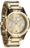 Nixon The Camden Chrono Bracelet Watch - Lyst