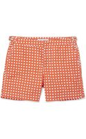 Orlebar Brown Bulldog Midlength Printed Swim Shorts - Lyst