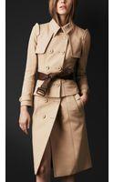 Burberry Prorsum Corset Trench Coat - Lyst