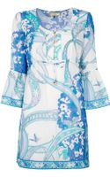Emilio Pucci Printed Tunic Top - Lyst