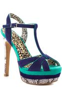 Jessica Simpson Autumns Royal Suede - Lyst