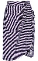 Bottega Veneta Striped Pencil Skirt - Lyst