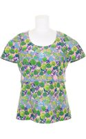 Marc Jacobs Top in Cotton with Multicolored Floral Pattern - Lyst
