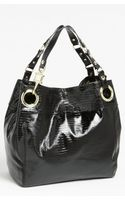 Steven By Steve Madden Candy Coated Lizard Embossed Tote - Lyst