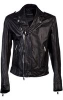DSquared2 Motorcycle Jacket - Lyst