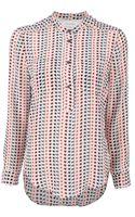 Etoile Isabel Marant Mansfield Multi-pattern Shirt - Lyst