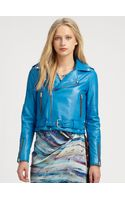 Rebecca Minkoff Leather Jacket - Lyst