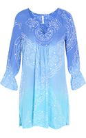 Cool Change Ombre Sail Vneck Dress - Lyst