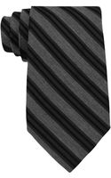 Calvin Klein Striped Tie - Lyst