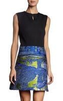 Proenza Schouler Sleeveless Multicolor Tweed Skirt Dress - Lyst